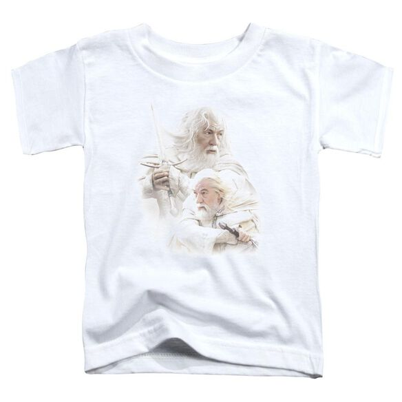 Lor Gandalf The White Short Sleeve Toddler Tee White T-Shirt