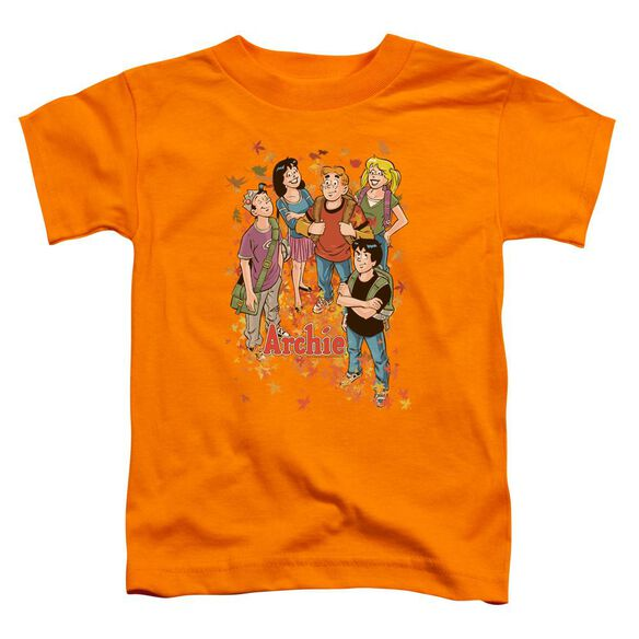 Archie Comics Colorful Short Sleeve Toddler Tee Orange Lg T-Shirt
