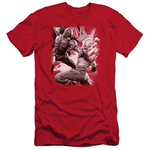 Dark Knight Rises Final Fight Short Sleeve Adult T-Shirt
