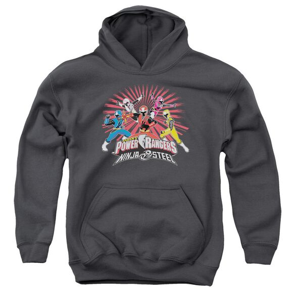 Power Rangers Ninja Blast Youth Pull Over Hoodie