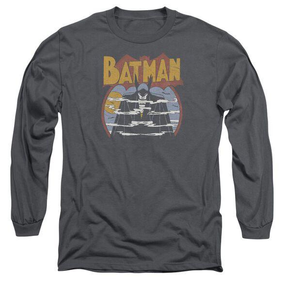 Dc Foggy Long Sleeve Adult T-Shirt