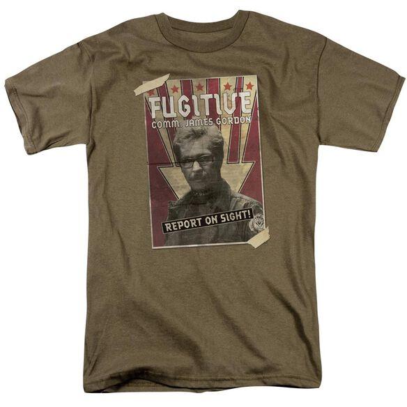 Dark Knight Rises Fugative Short Sleeve Adult Safari T-Shirt