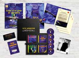 Rick Wakeman - Return To The Centre Of The Earth (Deluxe Box 4CD+DVD, Press Pack, Photo, Posters)
