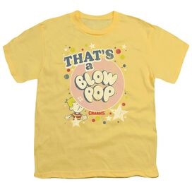Tootsie Roll That's A Blow Pop Short Sleeve Youth T-Shirt