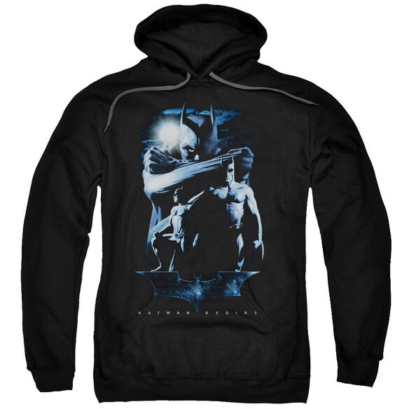 Batman Begins Forlorn Future Adult Pull Over Hoodie