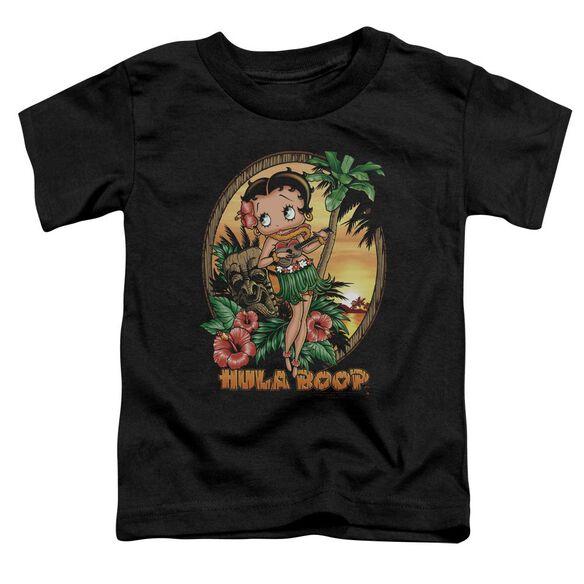 Betty Boop Hula Boop Ii Short Sleeve Toddler Tee Black Md T-Shirt
