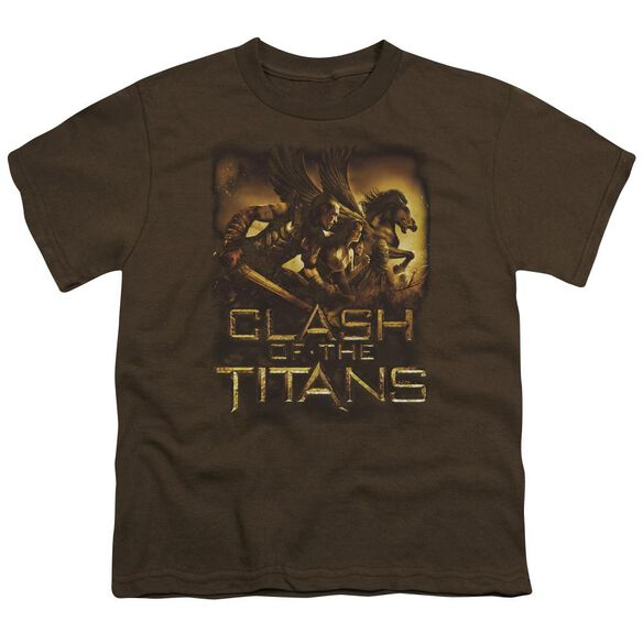 Clash Of The Titans Heroes Short Sleeve Youth T-Shirt