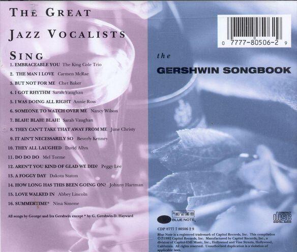 Cap Jazz Sings Gershwin