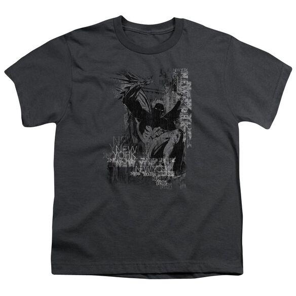 Batman The Knight Life Short Sleeve Youth T-Shirt