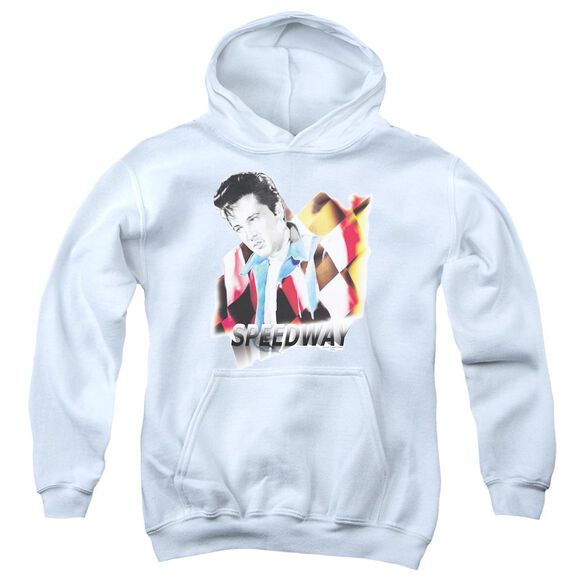 Elvis Speedway Youth Pull Over Hoodie
