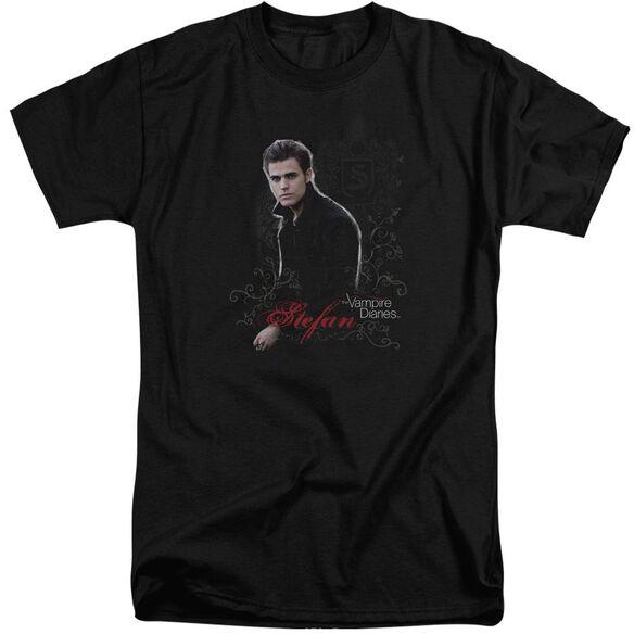 Vampire Diaries Stefan Short Sleeve Adult Tall T-Shirt