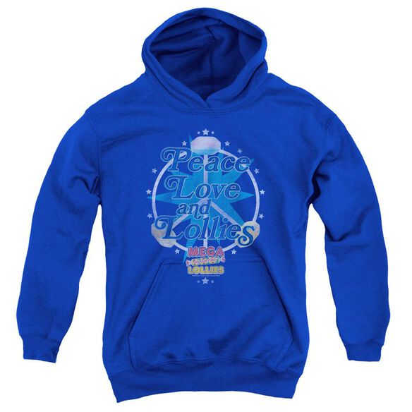 Smarties Peace Lollies Youth Pull Over Hoodie