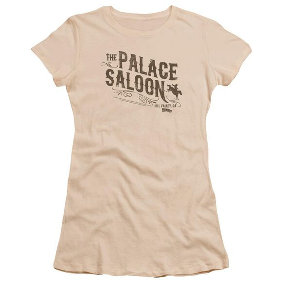 Back To The Future Iii Palace Saloon Premium Bella Junior Sheer Jersey