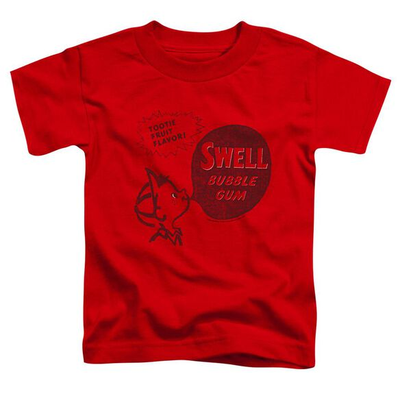 Dubble Bubble Swell Gum Short Sleeve Toddler Tee Red Md T-Shirt
