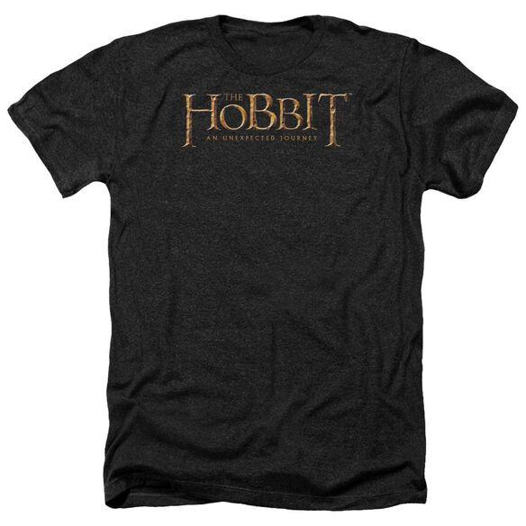 The Hobbit Logo Adult Heather