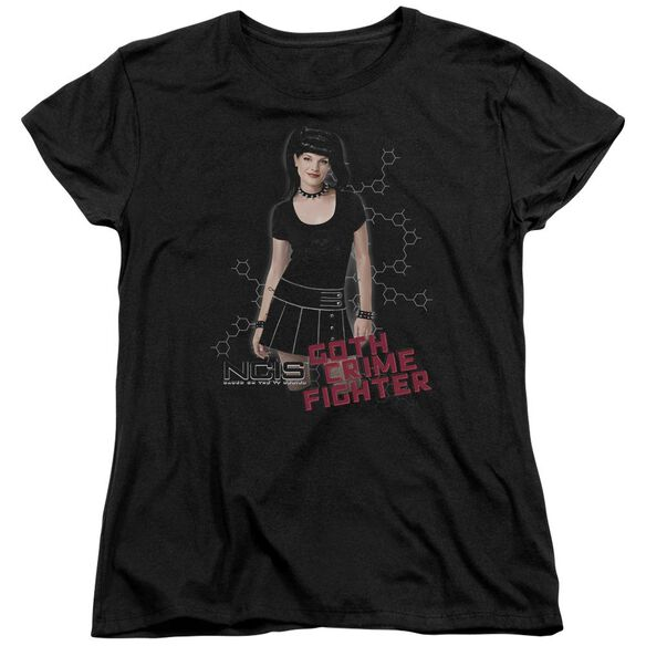 Ncis Goth Crime Fighter Short Sleeve Womens Tee T-Shirt