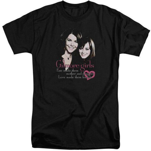 Gilmore Girls Title Short Sleeve Adult Tall T-Shirt