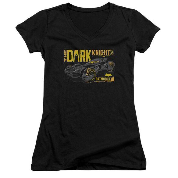 Batman V Superman Mobile Dark Knight Junior V Neck T-Shirt