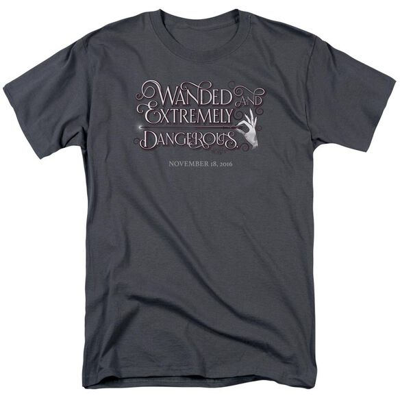 Fantastic Beasts Wanded Short Sleeve Adult T-Shirt