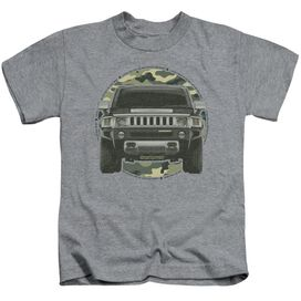 Hummer Lead Or Follow Short Sleeve Juvenile Athletic T-Shirt