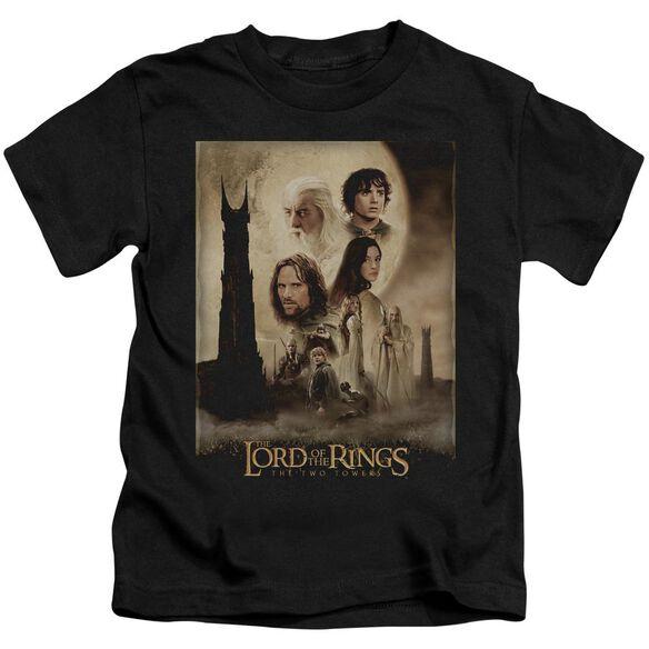 Lor Tt Poster Short Sleeve Juvenile Black T-Shirt
