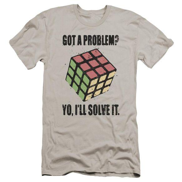 Rubik's Cube Problem Solver Premuim Canvas Adult Slim Fit