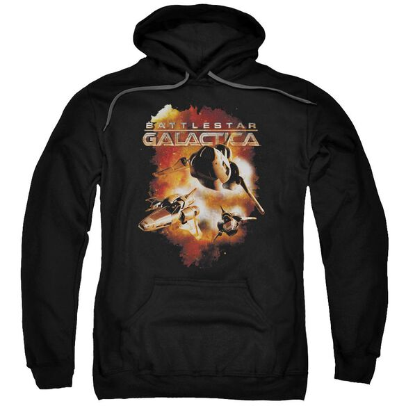 Battlestar Galactica (New) Vipers Stretch Adult Pull Over Hoodie