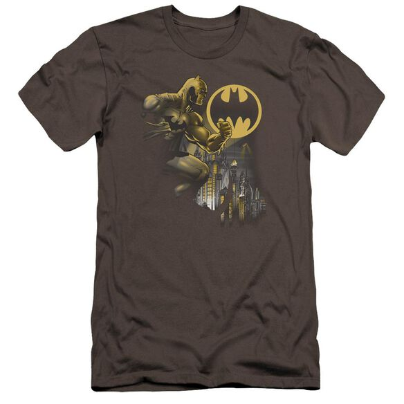 Batman Bat Signal Premuim Canvas Adult Slim Fit