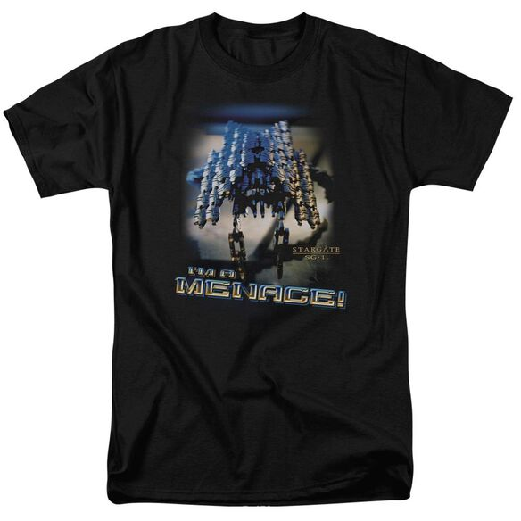 Sg1 Menace Short Sleeve Adult T-Shirt