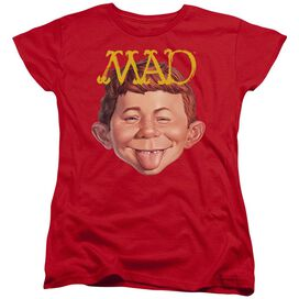 Mad Absolutely Mad Short Sleeve Womens Tee T-Shirt