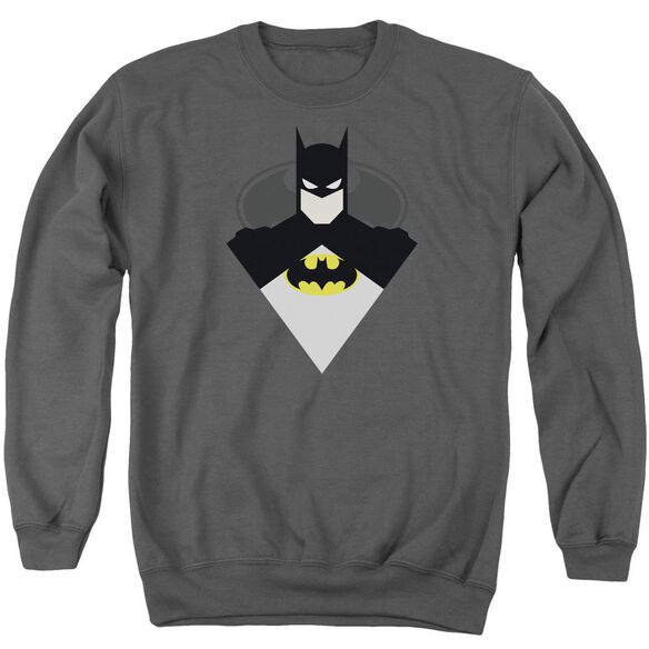 Batman Simple Bat Adult Crewneck Sweatshirt