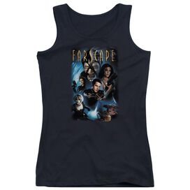 Farscape Comic Cover Juniors Tank Top