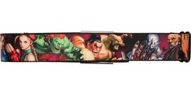 Street Fighter Battle Stances Seatbelt Belt
