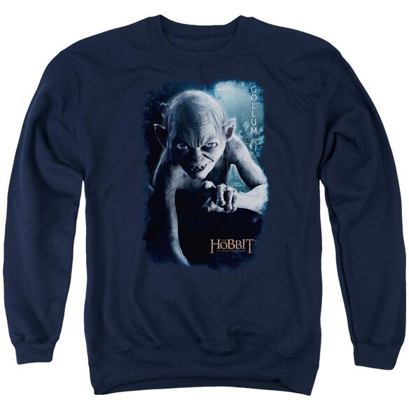 The Hobbit Gollum Poster Adult Crewneck Sweatshirt