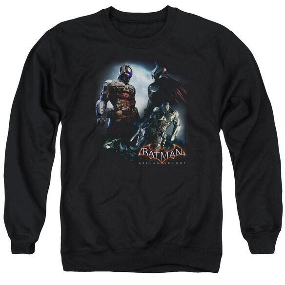 Batman Arkham Knight Face Off Adult Crewneck Sweatshirt