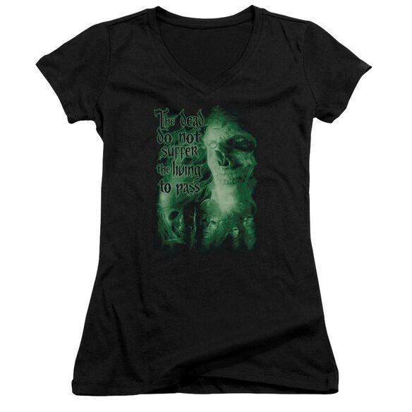 Lor King Of The Dead Junior V Neck T-Shirt