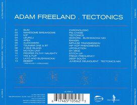 Adam Freeland - Tectonics