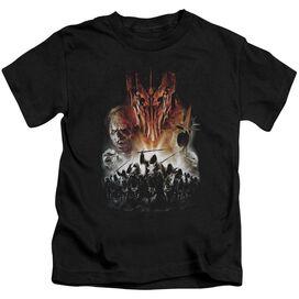 Lor Evil Rising Short Sleeve Juvenile Black Md T-Shirt