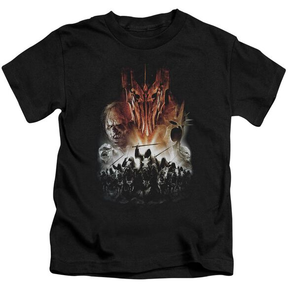 Lor Evil Rising Short Sleeve Juvenile Black Md T-Shirt