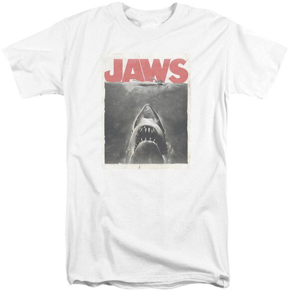 Jaws Classic Fear Short Sleeve Adult Tall T-Shirt