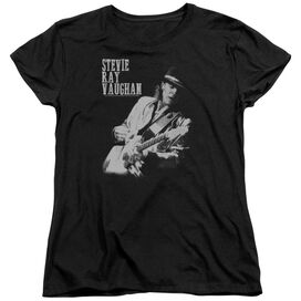Stevie Ray Vaughan Live Alive Short Sleeve Womens Tee T-Shirt