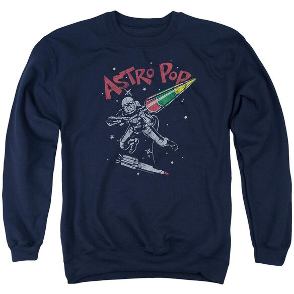 Astro Pop Space Joust Adult Crewneck Sweatshirt