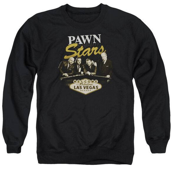 Pawn Stars Let It Roll Adult Crewneck Sweatshirt