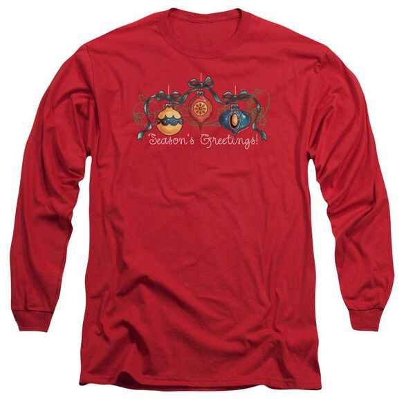 ORNAMENTS - ADULT 18/1 - RED T-Shirt