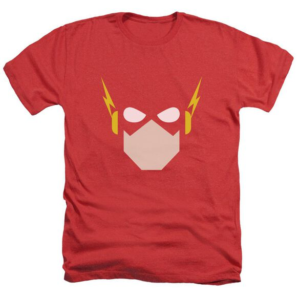 Jla Flash Head Adult Heather