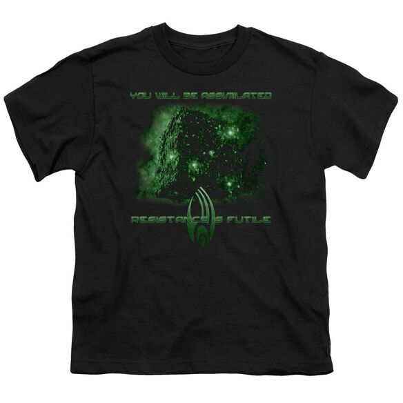 Star Trek Assimilate Short Sleeve Youth T-Shirt
