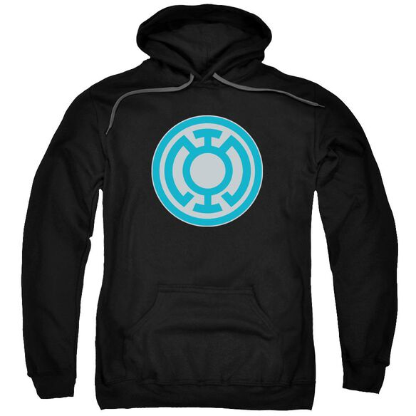 Green Lantern Blue Symbol Adult Pull Over Hoodie
