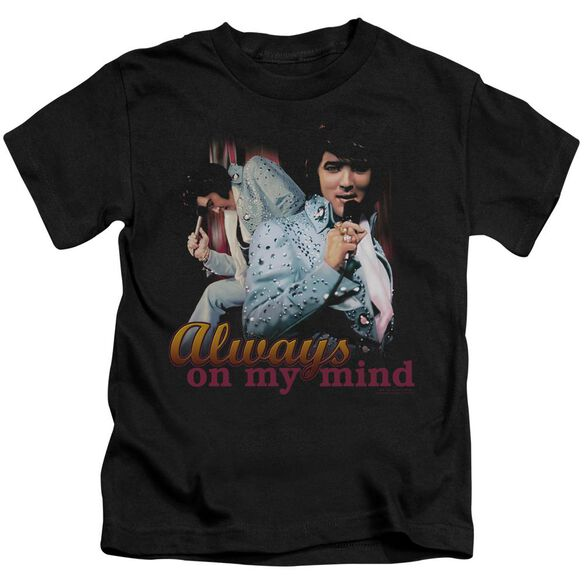 Elvis Always On My Mind Short Sleeve Juvenile T-Shirt