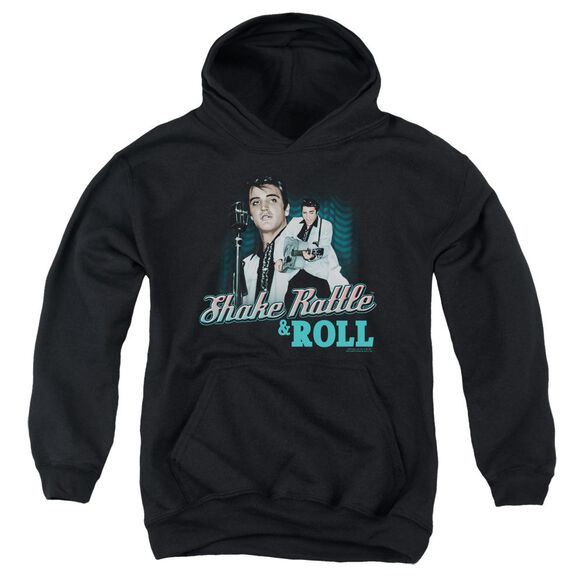 Elvis Shake Rattle & Roll Youth Pull Over Hoodie