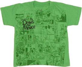 Dennis the Menace Comic Toddler T-Shirt